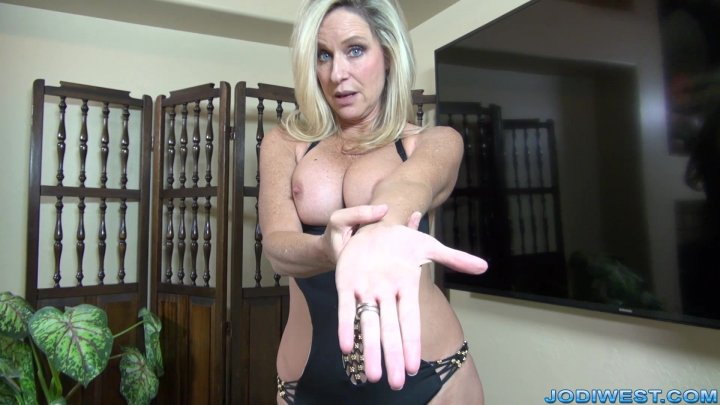 Jodi West - tight anal with glass toy image.