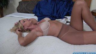 Jodi West - Stocking Masturbation
