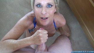 Jodi West -  Wednesday Handjob