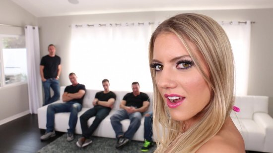 Gangbanged 8 featuring Candice Dare