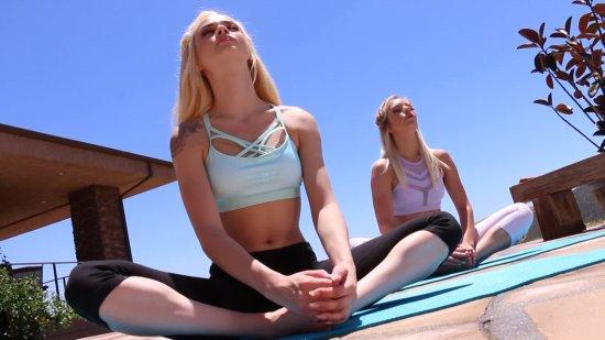 Yoga Pants featuring Trisha Parks & Elsa Jean