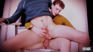 Streaming porn video still #4 from Star Trek: A Gay XXX Parody