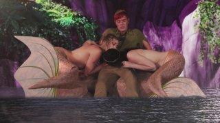 Streaming porn video still #6 from Peter Pan XXX: An Axel Braun Parody