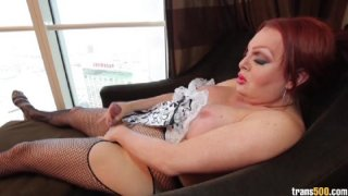 Streaming porn video still #7 from TS Cock Strokers 6