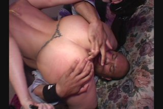 Streaming porn video still #3 from White Asses Swallow Chocolate Cocks