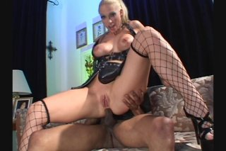 Streaming porn video still #8 from White Asses Swallow Chocolate Cocks