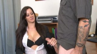 Streaming porn video still #8 from Monsters Of Jizz Vol. 33: Clothed Female Nude Male