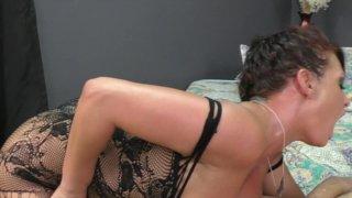 Streaming porn video still #7 from Jersey Black's Award Winning Femdom Scenes