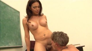 Streaming porn video still #6 from She Male Reform School 20