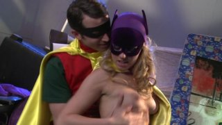 Streaming porn video still #1 from Batman XXX: A Porn Parody
