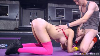 Streaming porn video still #7 from Yoga Freaks Vol. 2