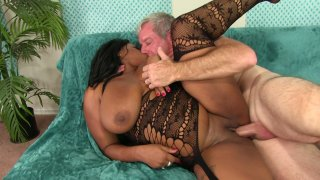 Streaming porn video still #6 from Sistahs Love White Cock 5