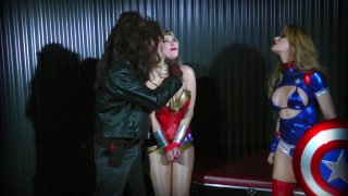 Streaming porn video still #2 from Wonder Woman! With Miss America And Power Girl