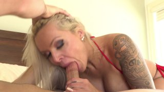 Streaming porn video still #2 from Cougar Creampie