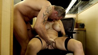 Streaming porn video still #5 from Big Tit Office Chicks