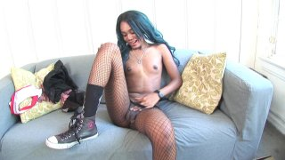 Streaming porn video still #9 from Buddy Wood's TS Debutantes