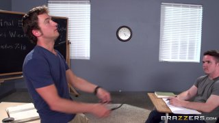 Streaming porn video still #1 from Double D-Tention