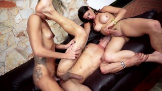 Streaming porn video still #6 from Brazilian Transsexuals Trans 3 Somes