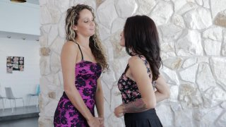 Streaming porn video still #20 from Lesbian Tutors 4