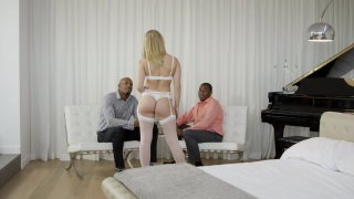 Streaming porn video still #1 from Interracial Threesomes Vol. 2