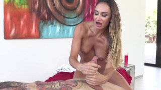 Streaming porn video still #4 from MILF Massage Therapy