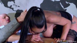 Streaming porn video still #4 from Work Hard . . . Fuck Harder