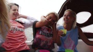 Streaming porn video still #4 from House Boat Full Of Teens