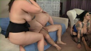 Streaming porn video still #18 from Super Sized Orgy Vol. 5