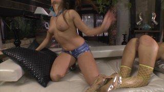 Streaming porn video still #2 from Slutty Girls Love Rocco 11