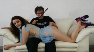 Streaming porn video still #1 from I've Got It Bad For Step-Dad 4