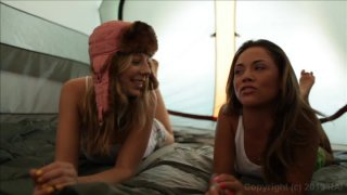 Streaming porn video still #1 from Belladonna's Girl Train 2
