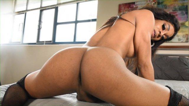 Streaming porn video still #1 from Black Tranny Whackers 31