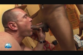 Streaming porn video still #5 from World's Biggest Transsexual Cocks, The