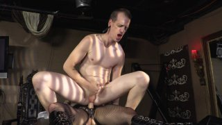 Streaming porn video still #7 from Strapdomme 2: Bound For Pegging