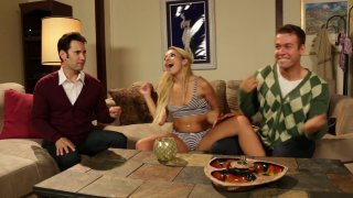 Streaming porn video still #1 from Not Jersey Boys XXX: A Porn Musical