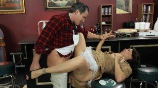 Streaming porn video still #7 from Laverne & Shirley XXX: A Dreamzone Parody
