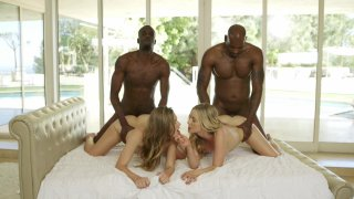 Streaming porn video still #5 from Interracial Orgies