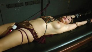 Streaming porn video still #8 from Perils of Slave Leia, The