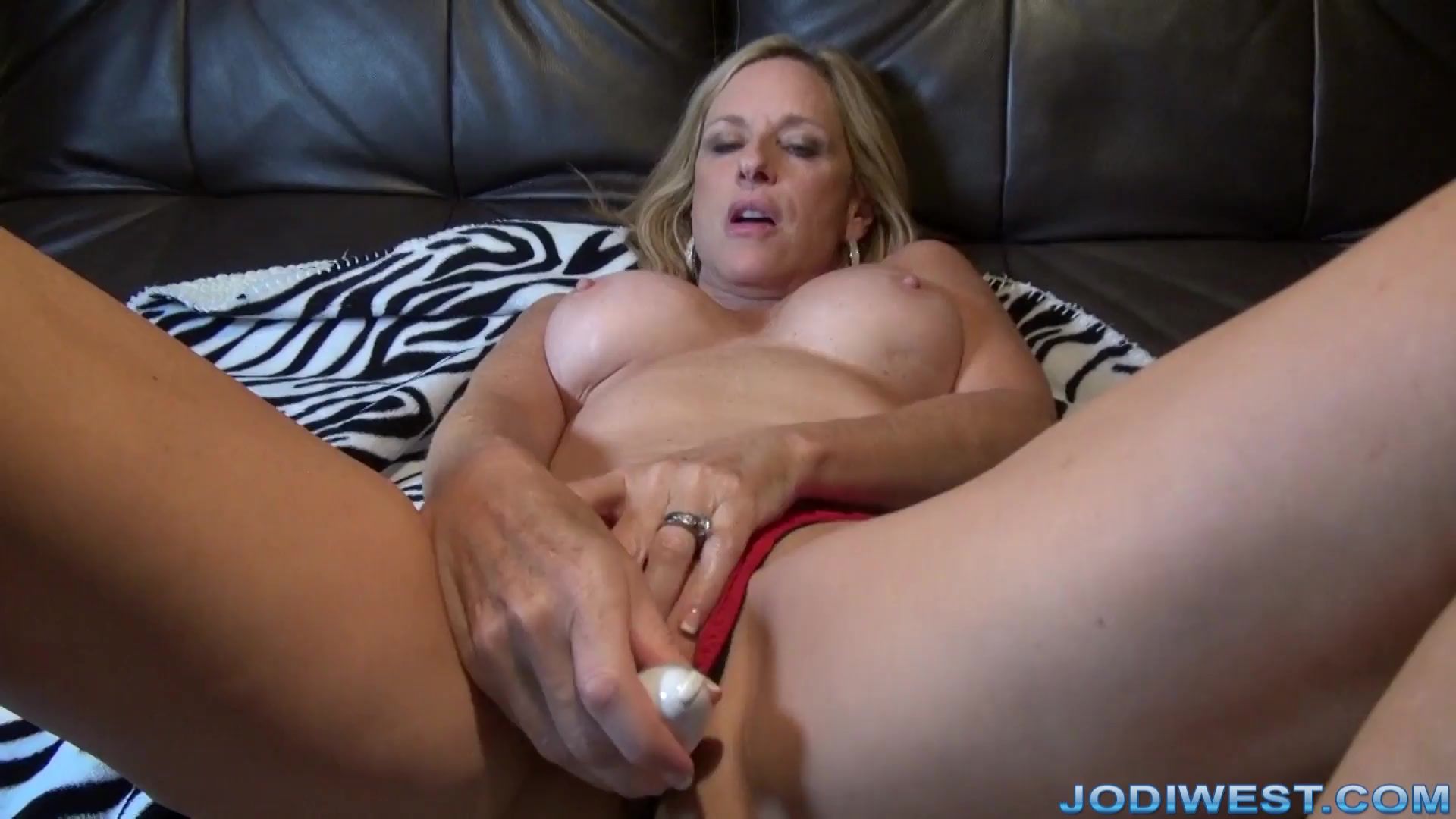 Jodi West Dirty Talk Sex Toy Session image.