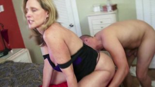 Streaming porn video still #7 from Mother-Son Secrets
