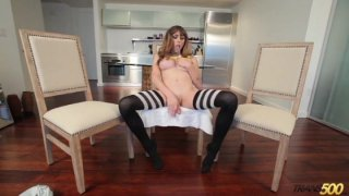 Streaming porn video still #5 from TS Cock Strokers 7: American Edition