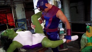 Streaming porn video still #3 from She-Hulk XXX: An Axel Braun Parody