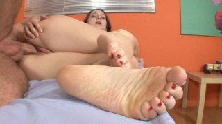 Streaming porn video still #4 from Barefoot Confidential 82