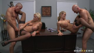 Streaming porn video still #5 from Big Tits At Work Vol. 18