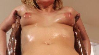Streaming porn video still #7 from My Black Masseur