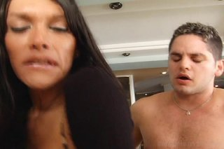 Streaming porn video still #4 from Titanic Transsexual Cock, The